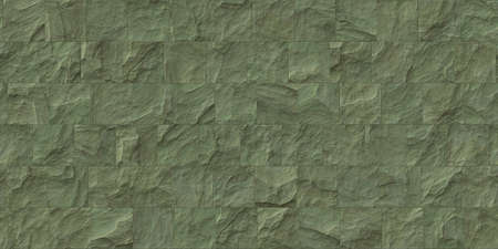 Olive outdoor stone cladding seamless surface. Stone tiles facing house wall. Stock fotó