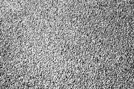 慎重に細工されたアスファルト ・道路のオーバーレイをテクスチャします。汚い不良粒ハーフトーン。  イラスト・ベクター素材
