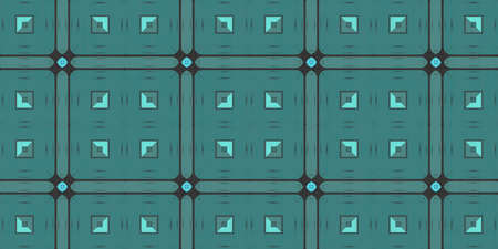 Seamless Geometrical Pattern Background. Geometry Kaleidoscope Shape Texture. Stock Photo