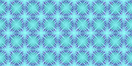 Lilac Blue Seamless Psy Pattern Background. Bright Surrealism Texture. Fractal Geometric Backdrop.