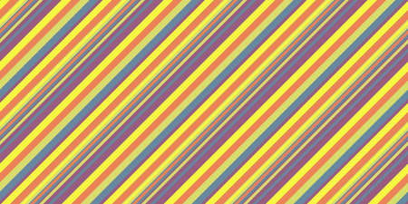 Summer Lights Seamless Inclined Stripes Background. Modern Colors Sidelong Lines Texture. Vintage Style Stripe Backdrop. Stock Photo - 99733394