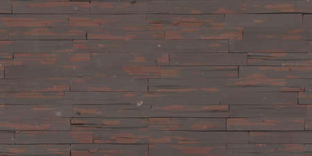 Seamless Dark Wooden Planks Wall Texture.