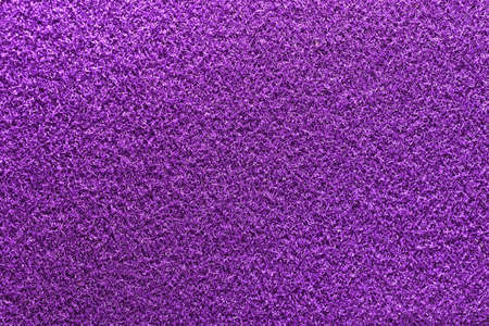 Lilac Fleecy Material Texture. Detailed Fibers Fluffy Surface Background. Stock fotó