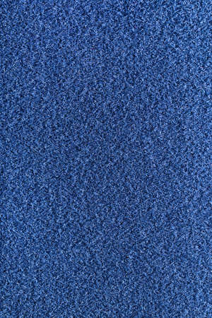 Blue Fleecy Material Texture. Detailed Fibers Fluffy Surface Background. Stock fotó