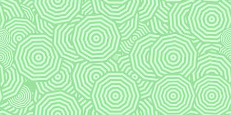 Light Green Polygons Ð¡oncentric Polygons Backgrounds. Seamless Hypnotic Psychedelic Compositions.