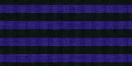Blue Black Striped Knitted Weaving Background.