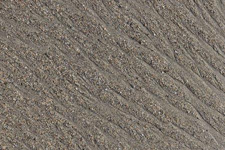 Wet sand water stock texture. Summer beach background.