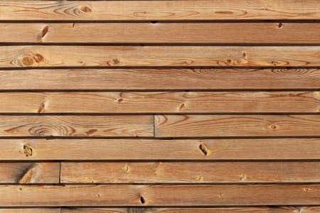 Horizontal planks texture. Wooden background. Horizontal along direction.