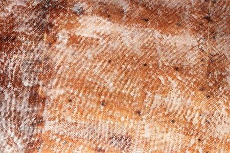 Repaired fiberglass ship board background. Fiberglass repairing shipboard texture. Stock Photo