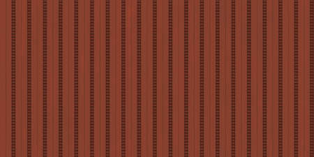 Red ribbed metallic surface. Wavy iron wall pattern. Fluted metal fencing backdrop. Corrugated metal texture. Crimp fence background. Standard-Bild