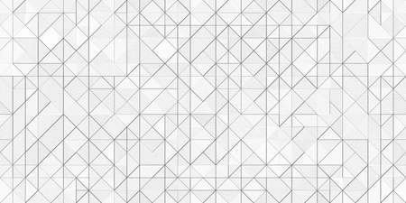 Silver Geometric Triangles Metal Texture. Seamless Tiling.