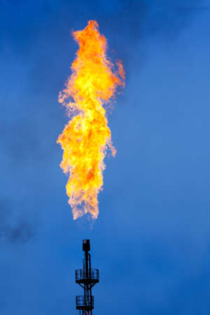 flare stack: Oil Industry: Flare Stack