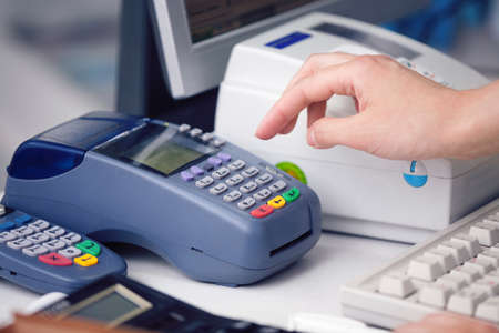 druggist: Reading the Credit card at the Credit Card Reader