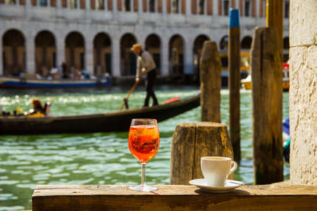 Coffee and Spritz in Venice
