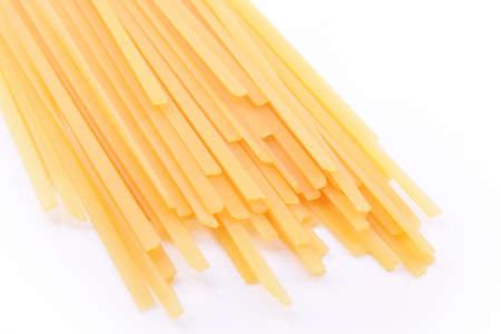 pasta on a white background