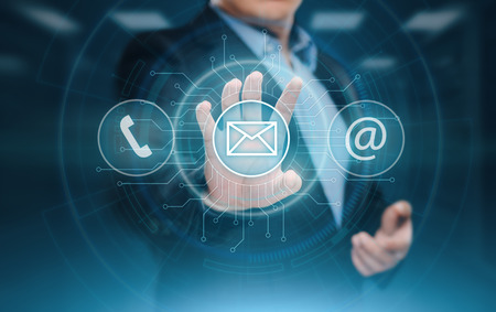 Technical Support Center Customer Service Internet Business Technology Concept. Standard-Bild