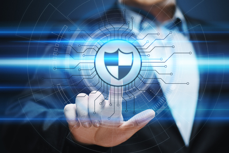 Gegevensbescherming Cyber ??Security Privacy Business Internet Technology Concept.