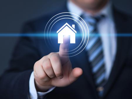 Concept de gestion immobilière. Banque d'images - 86481452