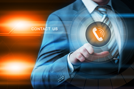 availability: Contact us Support Service Business Technology Internet Concept.