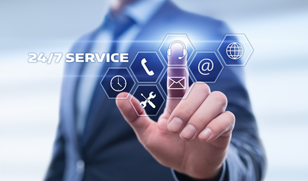 Support Service Business concept.