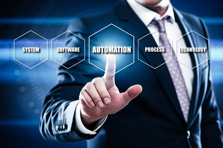 algorithms: Automation Software Technology Process System Business concept