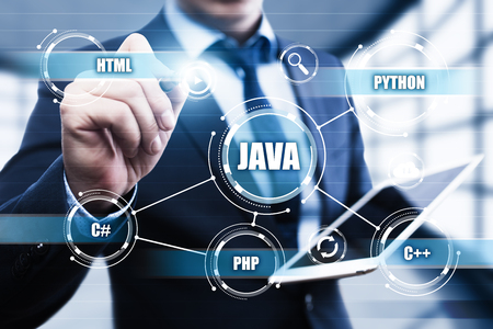 seo: Java Programming Language Web Development Coding Concept.