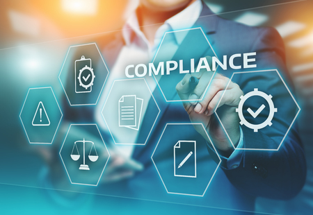 Compliance Regels Law Regulation Policy Business Technology-concept.