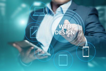 Responsive Web Desing Website Zakelijk Internet Technologie Concept. Stockfoto - 91014003