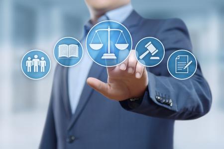 VAluation de la clientèle avocat concept de technologie de réseau d & # 39 ; ordinateur Banque d'images - 91760562