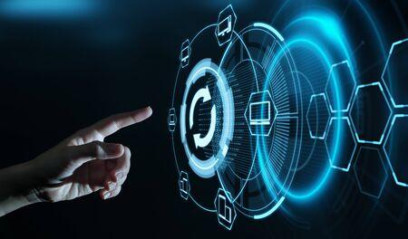 Update Software Computer Program Upgrade Internet Concept