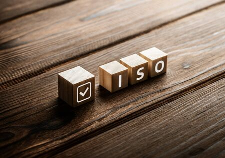International Organization for Standardization ISO Standardization Concept 版權商用圖片 - 125357512