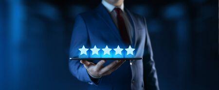 Customer Satisfaction Service Business Technology Internet Concept