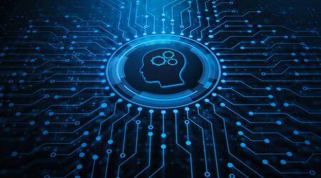 Tecnología de inteligencia artificial de automatización robótica de procesos RPA