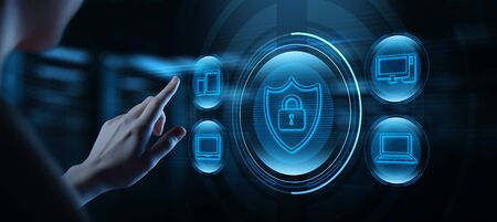 Cyber Security Data Protection Business Privacy concept.