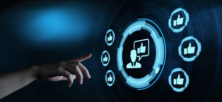 like button. Business Internet Social Media Technology Network Concept