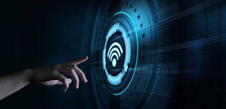 Wireless WiFi Network Signal Technology Internet Concept