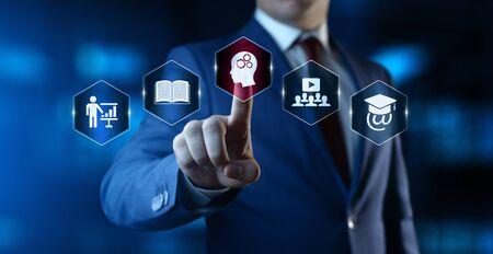 E-learning Education Internet Technology Webinar Online Courses concept
