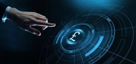 Livre Monnaie Affaires Bancaires Finances Concept Technologie