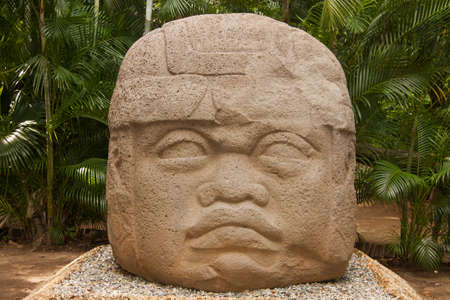 Olmec culture La Venta Villahermosa Tabasco Mexico Stock Photo