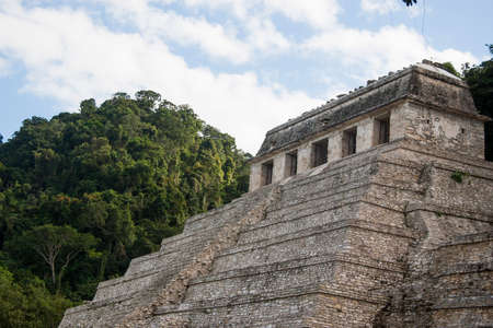 Temple of the Inscriptions Archaeological zone of Palenque