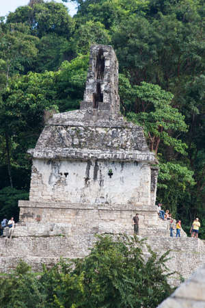 Temple of the Sun Archaeological zone of Palenque
