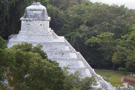 Temple of the Inscriptions, Pakal Tomb.  Palenque,Chiapas,Mexico