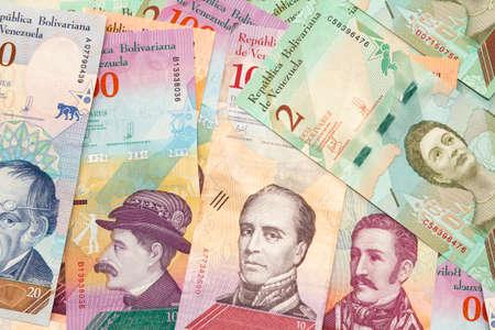 New currency venezuelan bills