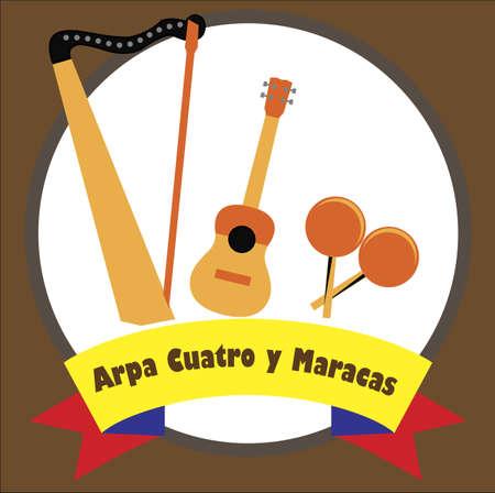 Venezuelan musical  instruments 版權商用圖片 - 132031599