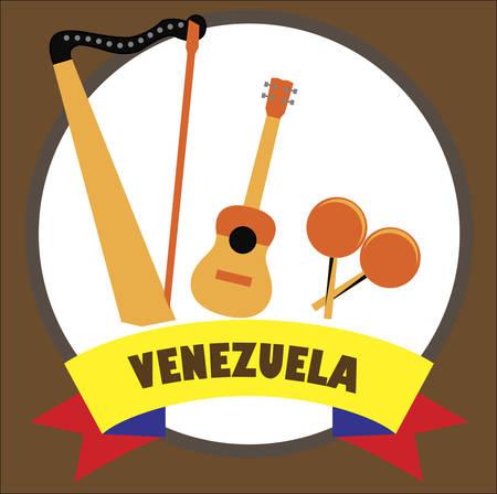 Venezuelan musical  instruments 版權商用圖片 - 132031609