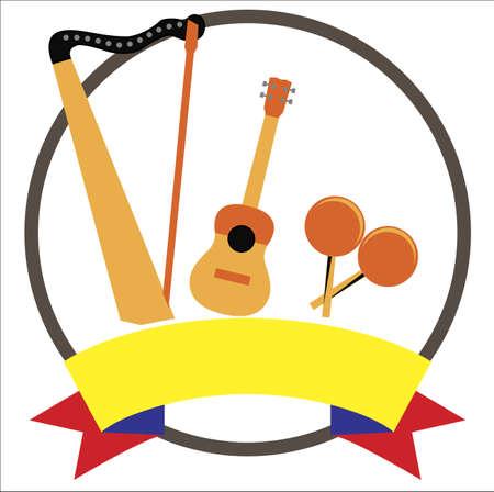 Venezuelan musical  instruments 版權商用圖片 - 132031614