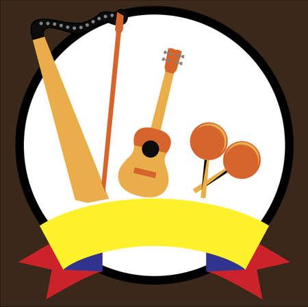 Venezuelan musical  instruments 版權商用圖片 - 132031628