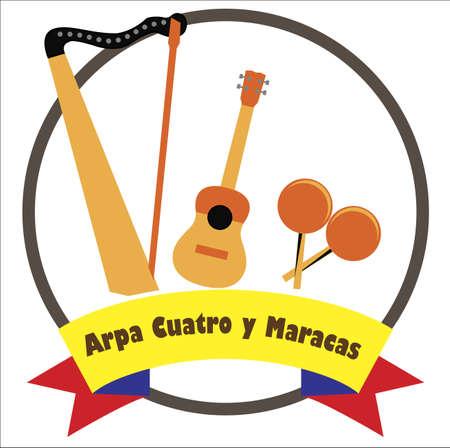 Venezuelan musical  instruments 版權商用圖片 - 132031632