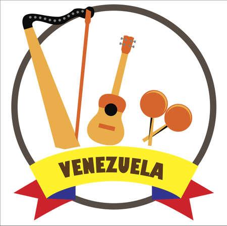 Venezuelan musical  instruments 版權商用圖片 - 132031748