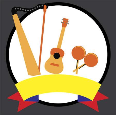 Venezuelan musical  instruments 版權商用圖片 - 132031752